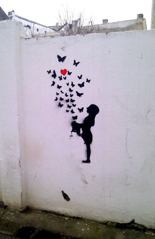 Street art in Cluj