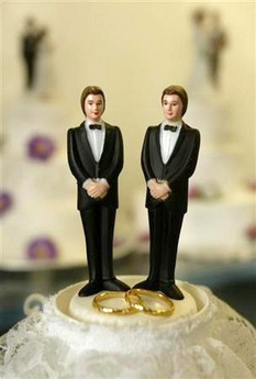 Image result for two grooms cake